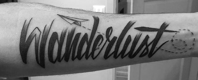 Wanderlust Tattoo Designs For Men