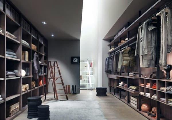 Wardrobe Room Spacious Closet For Men