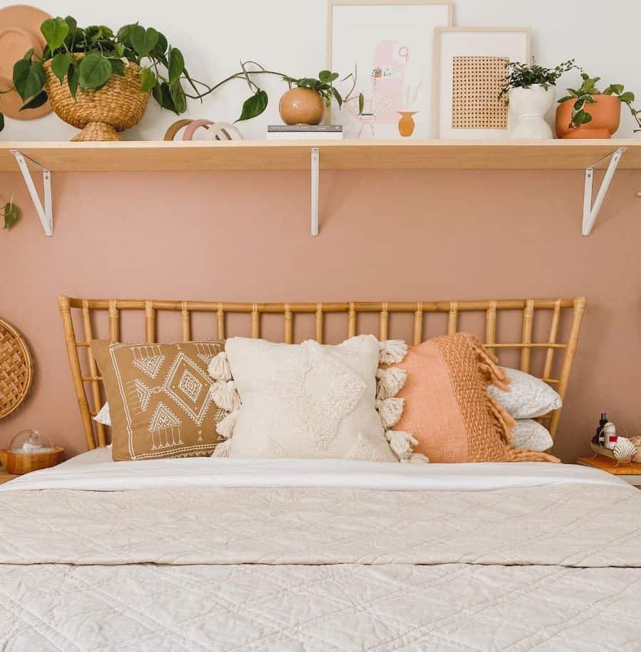 warm color boho bedroom ideas peonyandhoney