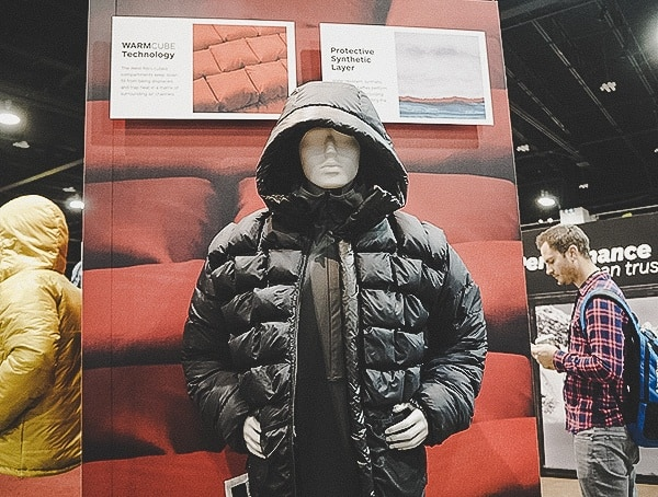 Warm Cube Technology Jacket With Insulation Outdoor Retailer