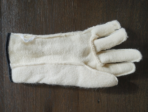 Warm Removeable Wool Terry Liner Hestra Ski Gloves