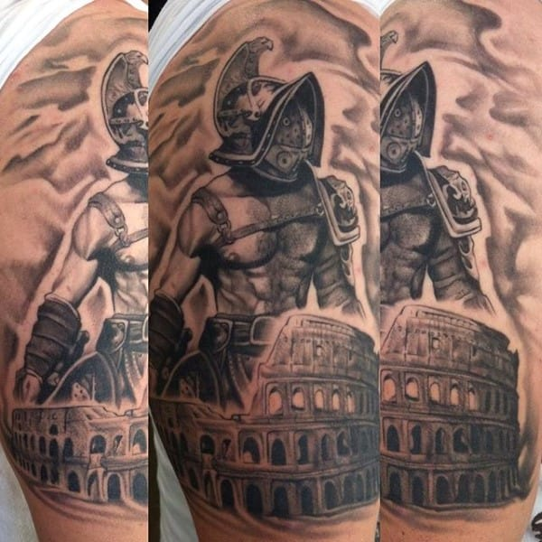 Warrior Gladiator Men's Tattoo