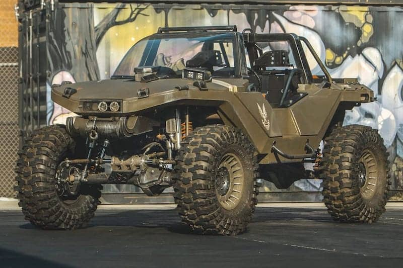 Real-Life 'Halo' Warthog Churns Out 1,060 HP