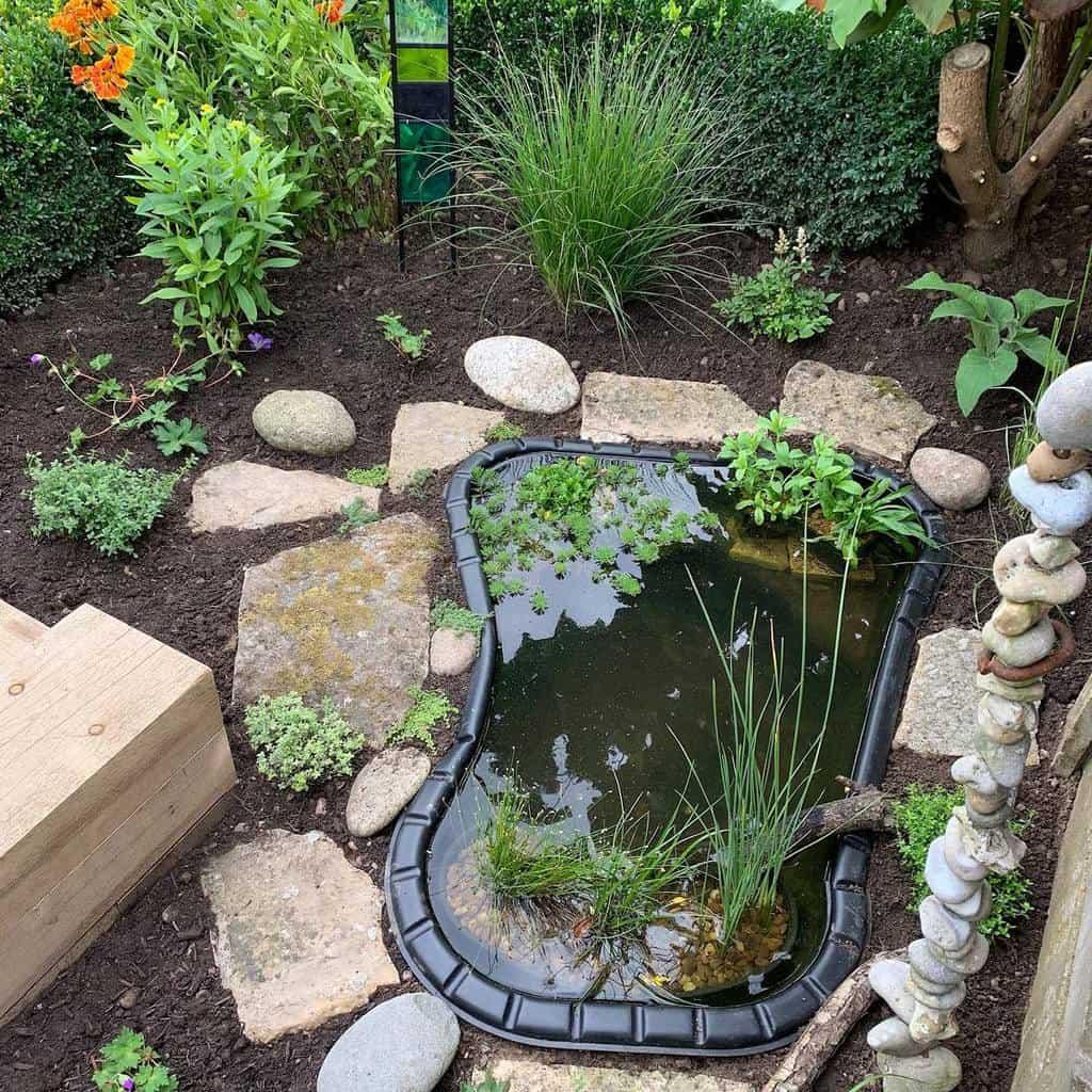 water feature shade garden ideas anneguygardendesigns
