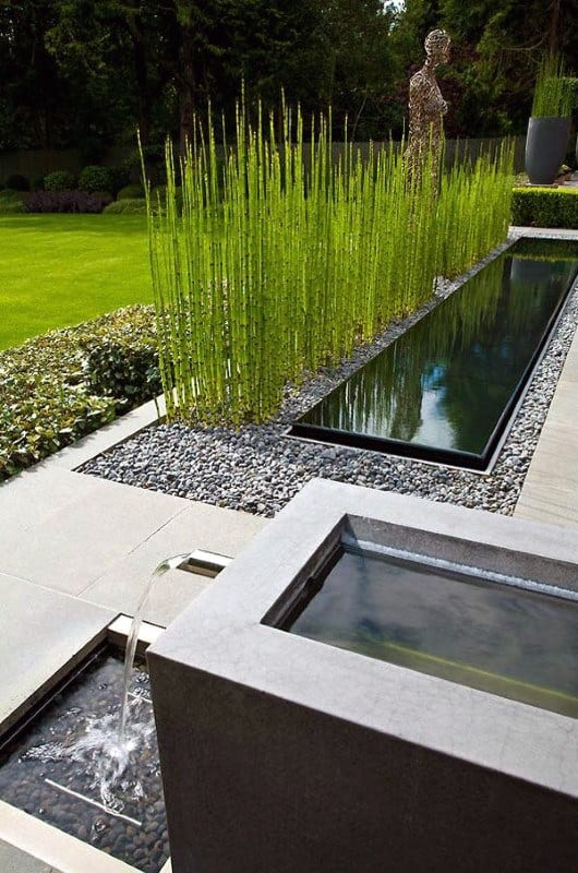 Water Features Modern Landscape Design