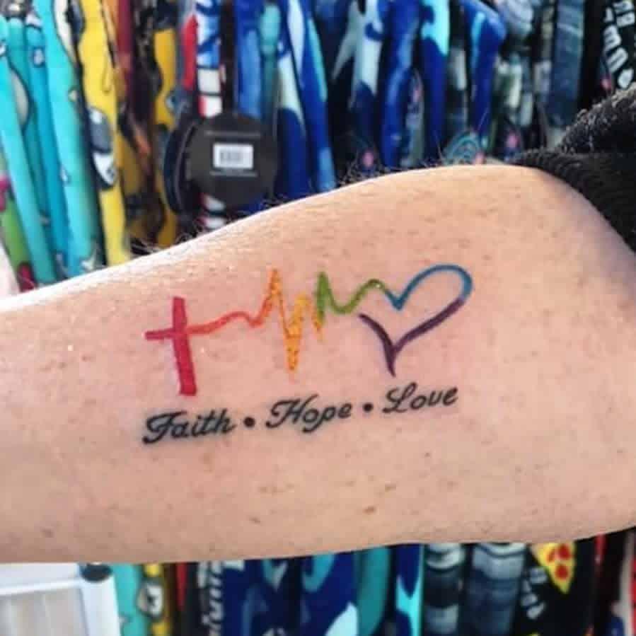 watercolor colored faith hope love tattoos heisenberg_ink