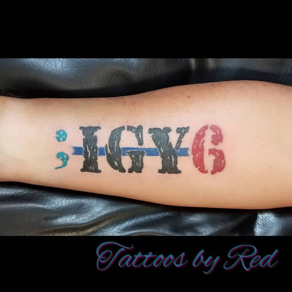 Watercolor Colored Igy6 Tattoos Jkrbt35