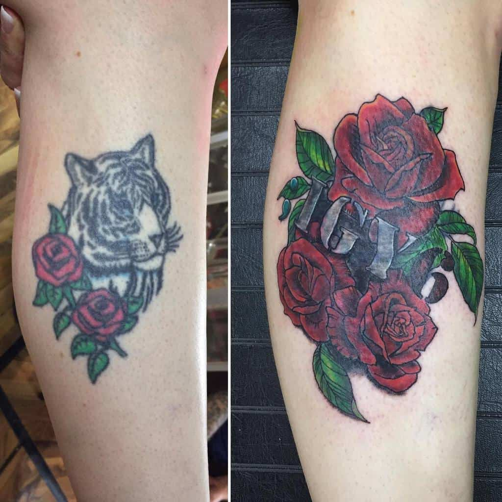 Watercolor Colored Igy6 Tattoos Razeldredge