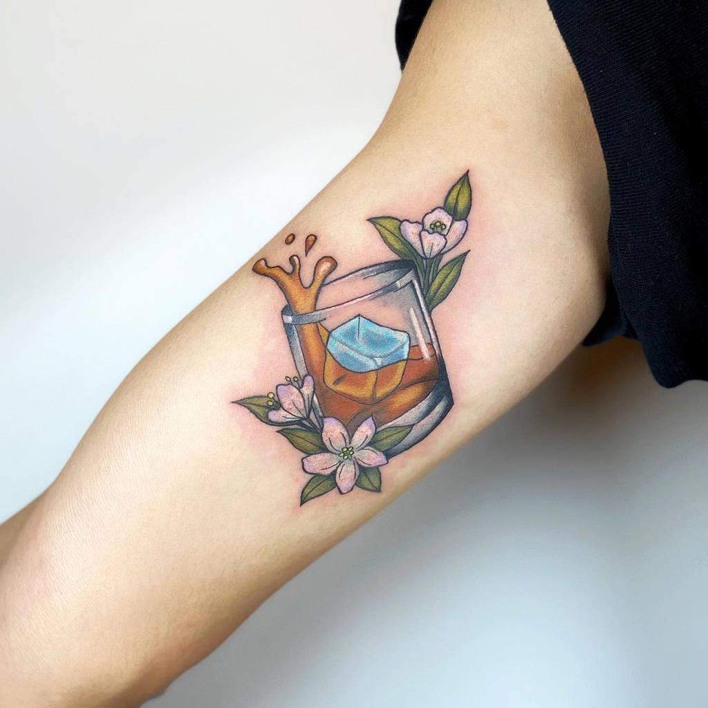 watercolor-colored-jasmine-flower-tattoos-takcotak