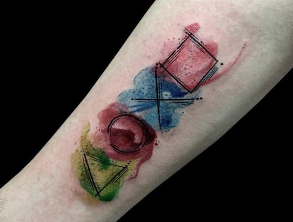 Watercolor Kinds Of Tattoo Styles