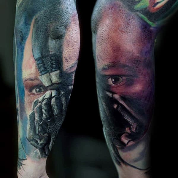 50 Bane Tattoo Designs For Men - Manly Ink Ideas