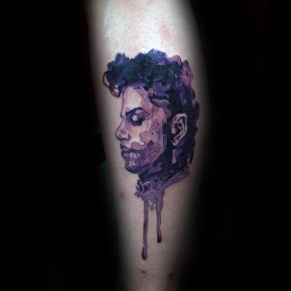 50 Prince Tattoo Designs For Men Musician Ink Ideas