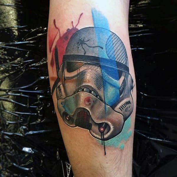 Storm Trooper Tattoo For Men
