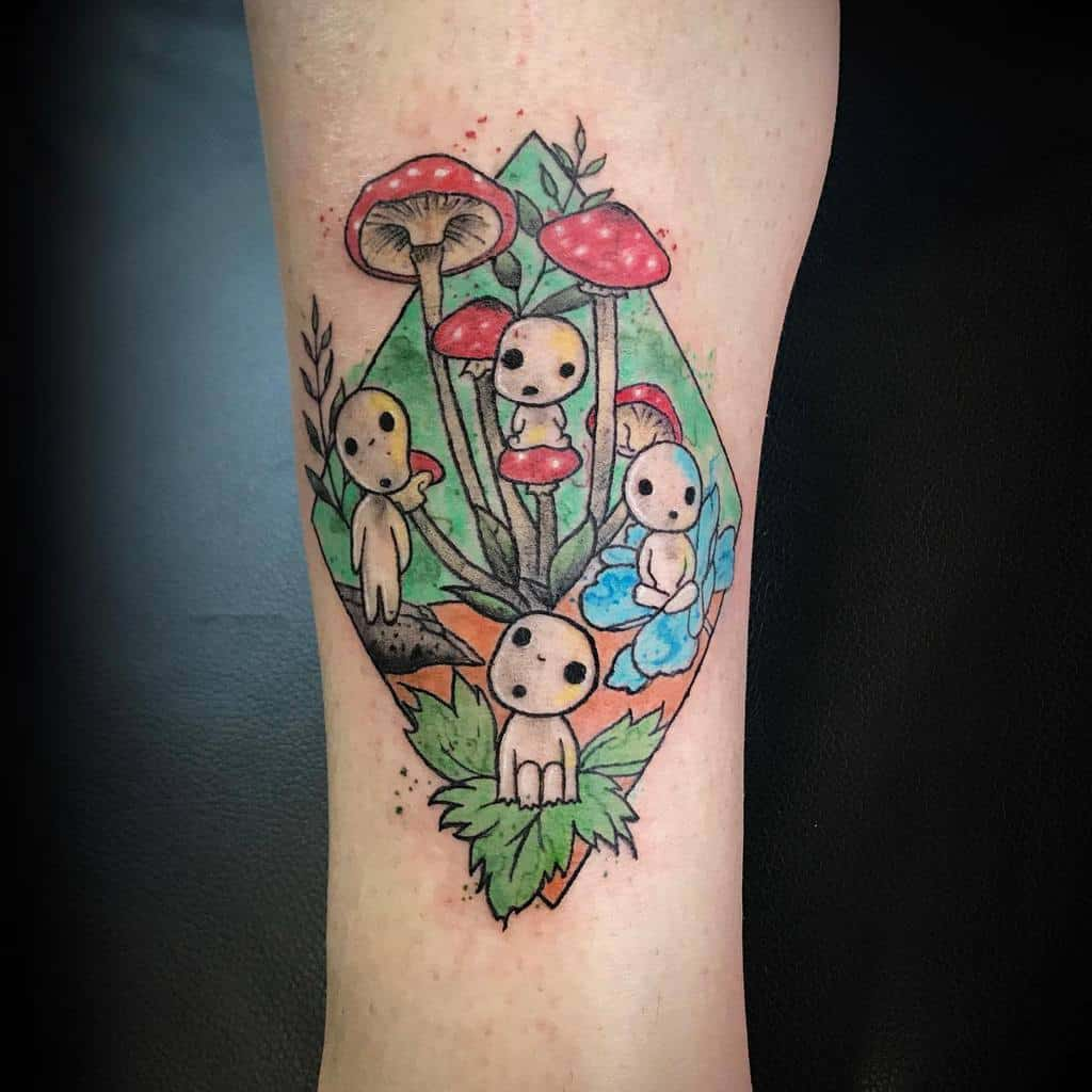 Top 53 Best Princess Mononoke Tattoo Ideas 2020 Inspiration Guide