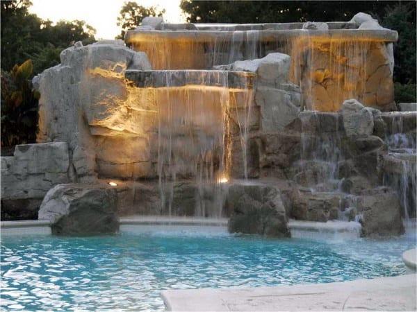 Waterfall Fountains For Backyard