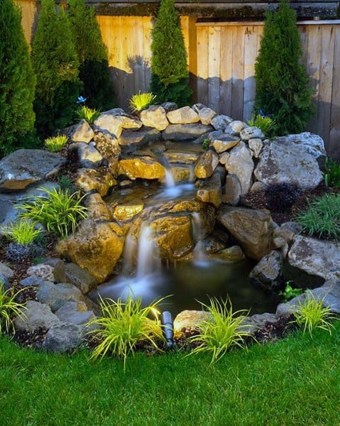 Waterfall Ideas For Backyard - Top 70 Best Backyard Waterfalls - Water Feature Design Ideas