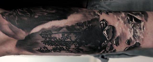 Waterfall Tattoo Designs For Men