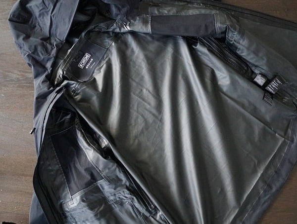 Waterproof Mens Jackets Chrome Industries Storm Seeker Shell Ms Interior Lining
