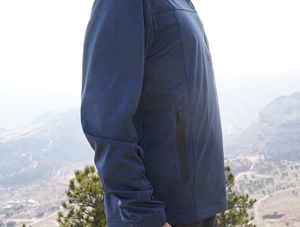 Waterproof Mens Style Ogio All Elements Strech 1 4 Zip Jacket