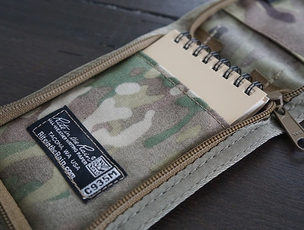 Waterproof Notepad With Multicam Storage Pouch Rite In The Rain Kit
