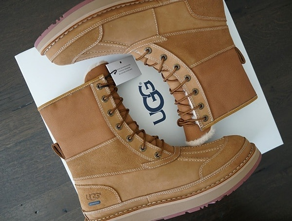 Waterproof Nubuck Leather Ugg Avalanche Butte Winter Mens Boots