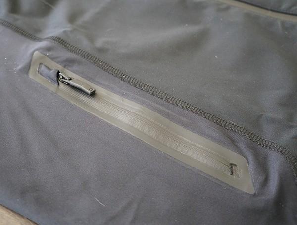 Waterproof Zipper Detail Ogio All Elements Elite Rain Jacket