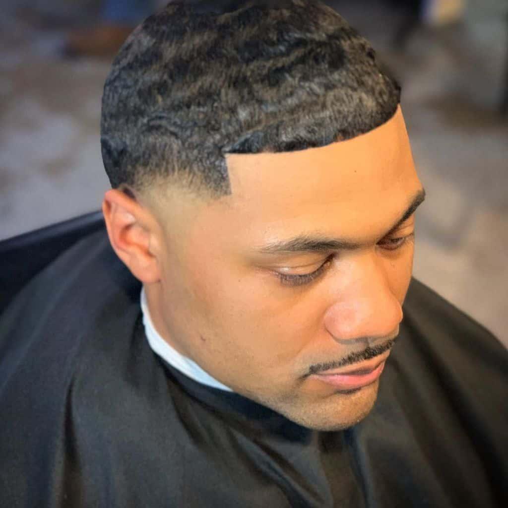 Wavy Hair Men Cut