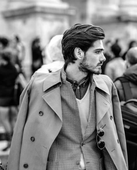 Wavy Haircuts For Men With Medium Length Hair