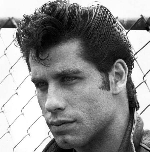 Wavy Male Greaser Hairstyles Medium Length