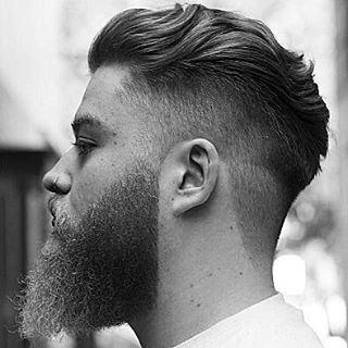 Wavy Mens Medium Length Undercut Hairstyle