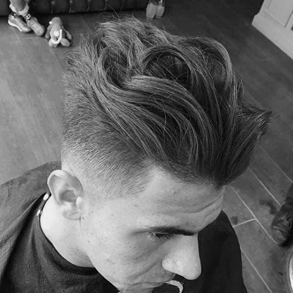 Wavy Mens Medium To Long Length Hairstyles