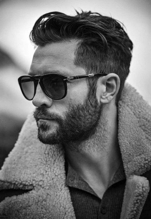 Wavy Mens Trendy Haircuts Short Length