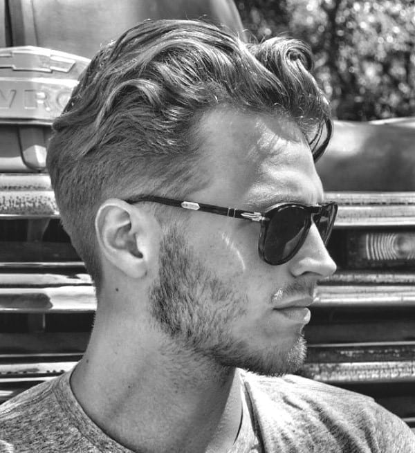 Wavy Stylish Hairstyles For Men With Thick Hair