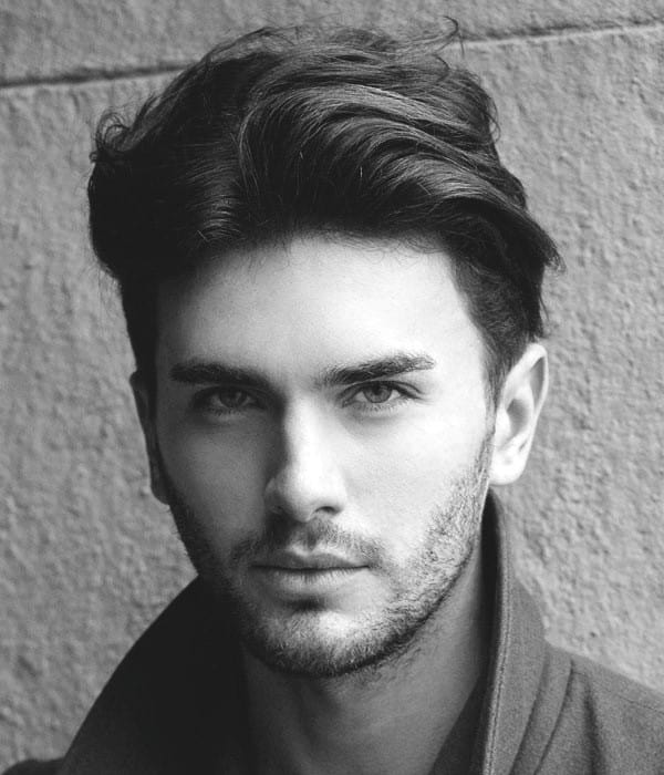 Wavy Thick Stylish Hairstyles Men
