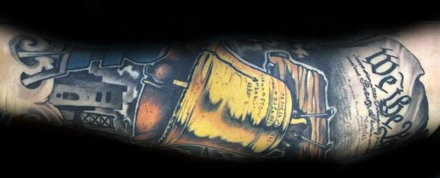 Top 61 We The People Tattoo Ideas – [2020 Inspiration Guide]