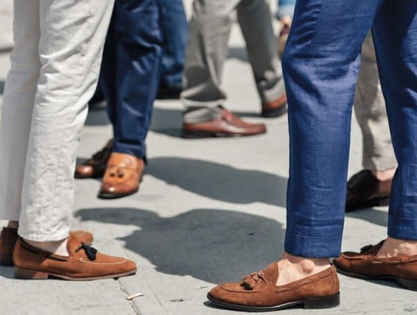 Wear Loafers How To Stay Cool In A Suit For Men