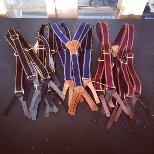 Wearing Mens Suspenders With Belt