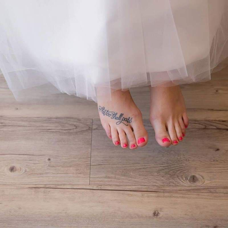 Wedding This Too Shall Pass Tattoo