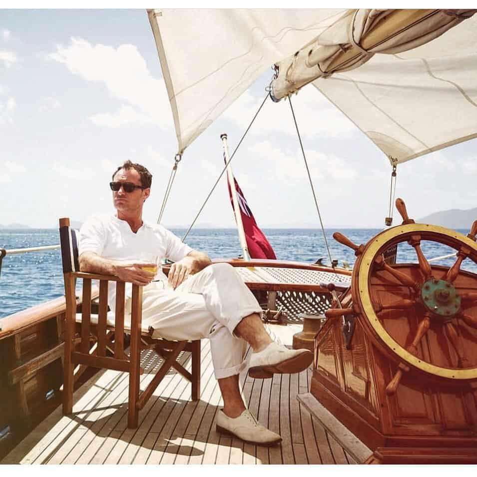 Weekend Boating Nautical Style