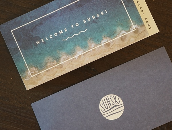 Welcome To Sunski Print Card
