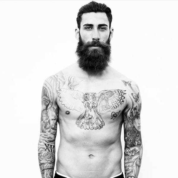 Well Groomed Guys Big Beard Styles