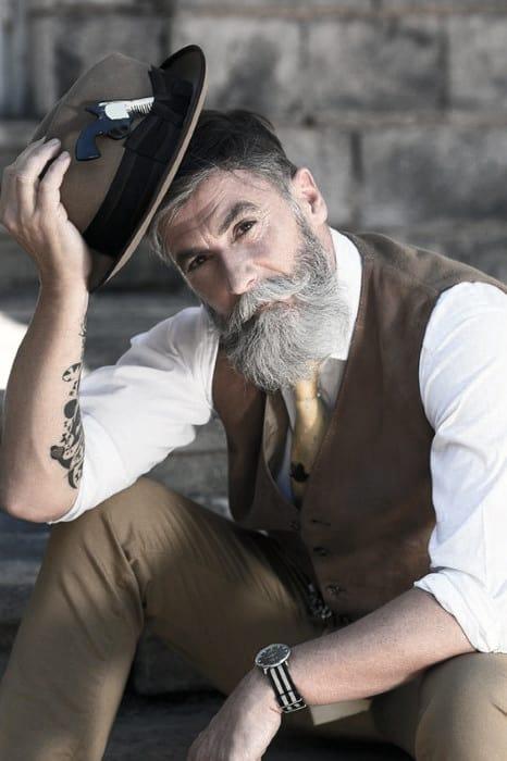 Well Groomed Guys Classy Beard Styles