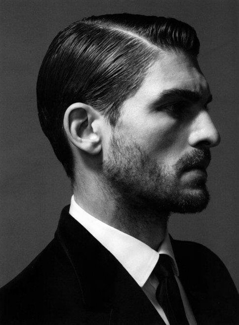Well Groomed Mens Hard Part Classic Hair