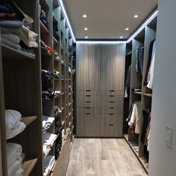 Well Organized Closet Designs For Guys