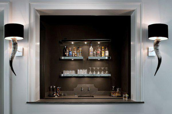 Wet Bar At Home Ideas