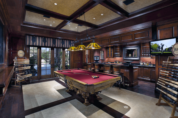 Wet Bar Billiards Room Ideas Inspiration