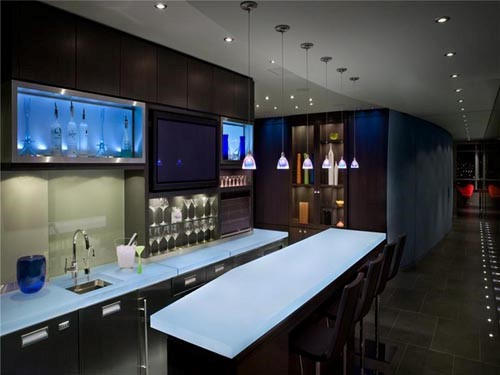 Bar Design Ideas For Home 25 contemporary home bar design ideas evercoolhomes Wet Bar Interior Design Ideas