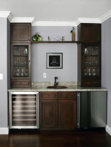 Wet Bar Traditional Home Ideas