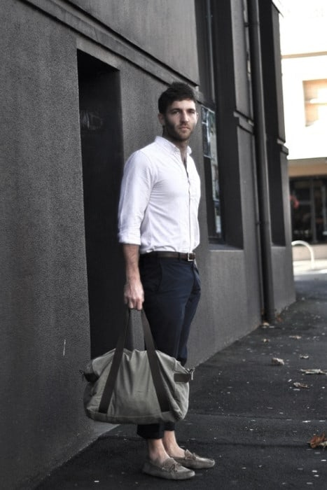 What To Wear Business Casual Outfits White Dress Shirt Navy Pants Mens Styles