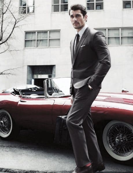 What To Wear With A Grey Suit Mens Styles